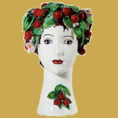 Figural Lady Cherry Donatello