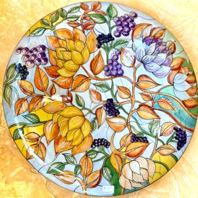 IMM Grapes Wall Plate