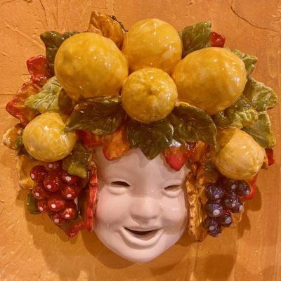 Frutta Wall Mask Ceramic